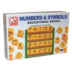 Coko Numbers and Symbols Educational Bricks - The Creative Toy Shop