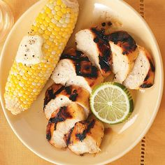 Margarita Chicken Recipe -Marinated in flavors of garlic and lime, this tangy grilled chicken is ready to go whenever the coals are hot! Serve with roasted corn on the cob and lemonade for summer eating at its most relaxed. —Kelly Bruneman, Cedar Park, Texas