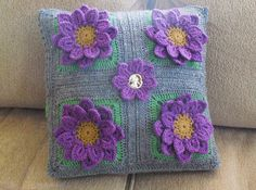 Ravelry: Project Gallery for Crocodile Stitch Afghan Block - Dahlia pattern by Joyce Lewis