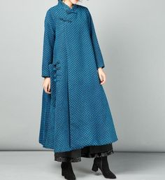 This item is unavailable - Women's maxi wool coat, Loose wool coat, wool robes, wool coat for women, maternity maxi clothes - Clothes For Women Over 40, Coats For Women, Jackets For Women, Diy Clothes Tops, Sewing Clothes Women, Mode Mantel, Wool Coat, Cute Outfits, Maternity Maxi