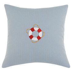 Transform your home into a captain-worthy quarter with this plush pillow, perfect for your sofa, bed, or favorite arm chair.   Produc...