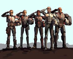 What a beauty from 🦾 OG caption > ・・・ 💀💀💀💀💀The Baddest Batch. This part got me!🥺 Who is your favorite member of Clone Force ⬇️⬇️ Star Wars Clone Wars, Star Wars Rebels, Star Wars Art, Star Trek, Star Wars Pictures, Star Wars Images, Clone Trooper, Funny Art, Stars