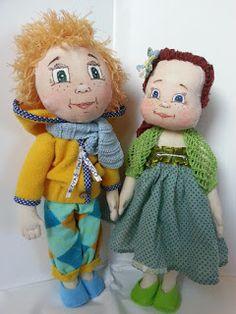 Jurgitos galerija: Broliukas ir sesutė