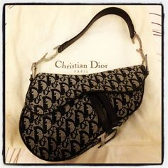 Christian Dior saddle bag - an oldie, but a goodie...