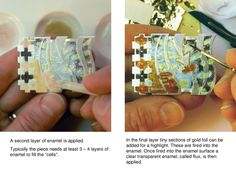 ISSUU - How to enamel > Champleve > Engraved Method by ruth ball