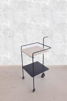 Memphis Inspired Tea Trolley. Steel FurnitureModular ...