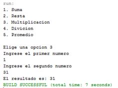 Codigo aqui: http://programacionjavaphp.wordpress.com/operaciones/