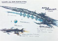 Space Ship Concept Art, Robot Concept Art, Concept Ships, Sea Pirates, Starship Concept, Space Engineers, Space Fantasy, Spaceship Design, Anthro Furry
