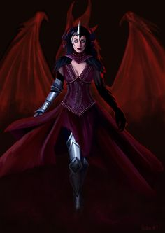 I like this because Morrigan looks like her, and this is how I picture Morrigan if Flemeth's godhood is passed to her........Flemeth by ThanatosofNicte.deviantart.com on @deviantART