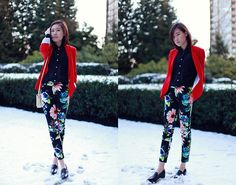 I guess I will buy a floral patterned pants too
