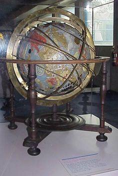 Weigel's Globe (Celestial Globe at The Franklin Institute)
