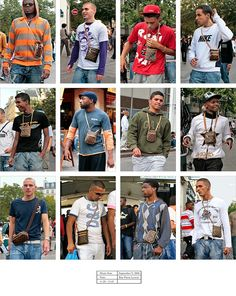 Photographer Hans Eijkelboom has spent decades documenting tribes of people wearing the same clothes – from double denim to fur hoods and mini Louis Vuitton manbags – for his series People of the Twenty-First Century Normcore Outfits, Journal Photo, Sartorialist, Labor, Rue, The Guardian, 21st Century, 20 Years, Street Photography
