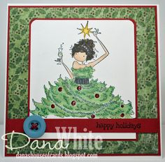 Uptown Girl Savannah has a Star card - image from Stamping Bella