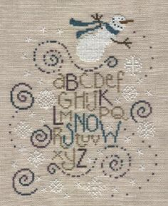 Bent Creek Cross-stitch | Photo: Bent Creek Snow | Cross Stitch album | MeXicalliannie | Fotki ...