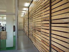 pallet wall divider