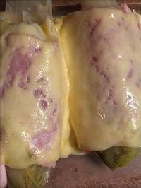Witlof met ham en gesmolten kaas uit de Airfryer