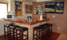 The staples of most any man cave bar ideas: a pool table and/or a bar. Check out these awesome examples for inspiration https://superfancoolers.com