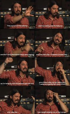 Funny Meme - [Dave Grohl is the man]