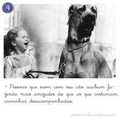 Passear com cachorro = saudável + amizades