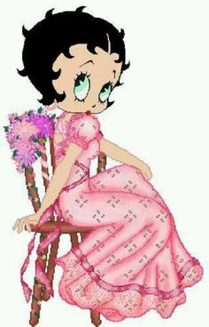 Betty Boop ~ Pretty In Pink