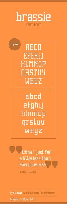 Brassie - Free Font