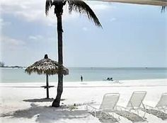 Our beautiful white-sand beach!