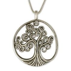 Tree of Life Pendant - Celtic Jewelry Celtic Necklace, Copper Necklace, Silver Earrings, Silver Ring, Tree Of Life Jewelry, Tree Of Life Necklace, Geeks, Steampunk, Tree Of Life Pendant