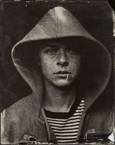 joshwool:  Dane DeHaan - Park City, Utah - Sundance Film Festival 4x5 Tintype Portrait by Victoria Will darkroom/chemical processing Josh Wo...
