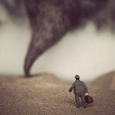 Miniature Photography. Storm watch. Sometimes by ErinTyner, via Flickr.