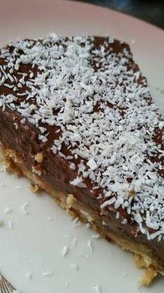 Good Food, Fun Food, Sweet Recipes, Tiramisu, Food And Drink, Vegan, Chocolate, Puddings, Ethnic Recipes