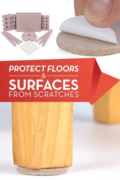 Chair Leg Floor Protectors with Strong Adhesion, Thick Floor Protector Pads for Increased Durability Secret Storage, Secret Rooms, New Builds, Ocd, Conservatory, New Kitchen, Floors, Beautiful Homes, Home Improvement