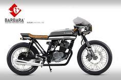 Suzuki Van Van Cafe Racer Design #2 by Barbara Custom Motorcycles #motorcycles #caferacer #motos | caferacerpasion.com