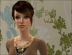Lowi♥Sims: ★Update★ ts2 sim - Stella Walker Sims 2, Female, Fashion, Moda, Fashion Styles, Fashion Illustrations