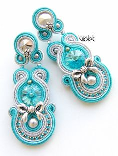 Soutache earrings - Salma