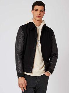 2014 All Black Mens Baseball Jacket Online for Sale | Varsity