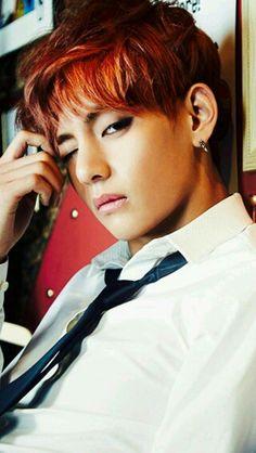 V 뷔 from Bangtan Boys 방탄소년단 - Skool Luv Affair Jimin, Bts Taehyung, Bts Bangtan Boy, Taehyung Smile, Taehyung Fanart, Bts Boys, Jhope, Skool Luv Affair, Seokjin