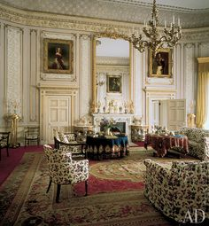 Frogmore House ~ Reading Room