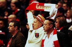 Sex Pistols lead singer, Jonny Rotten is a fanatical Arsenal fan.