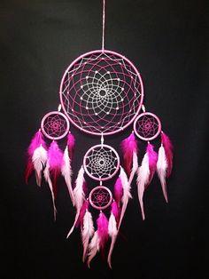 Pink-dream-catcher-dreamcatcher-dream