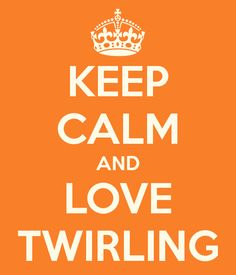 Always a part of me :) No matter if it is called spinning or twirling...