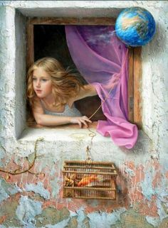 La niña que se asomó a la ventana