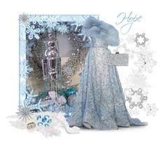 """Brain tumor foundation charity Christmas balll"" by joyfulmum ❤ liked on Polyvore featuring Elie Saab, Bling Jewelry, Dolce&Gabbana, Edie Parker, Blue La Rue and Nicholas Varney"