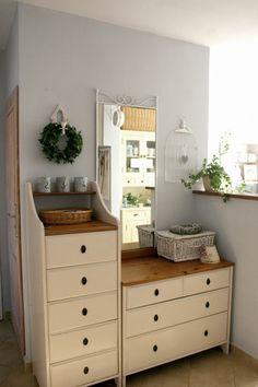 My little white Home: Im prościej, tym lepiej Hemnes, Ikea Furniture Hacks, Furniture Makeover, Ikea Leksvik, Ikea Drawers, Ikea Shopping, Ikea Decor, Idee Diy, Ideal Home Show