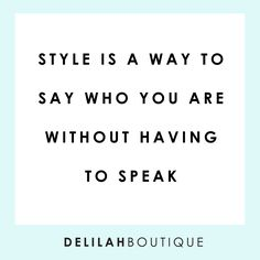 Need some stylish new threads? delilahboutique.com xx