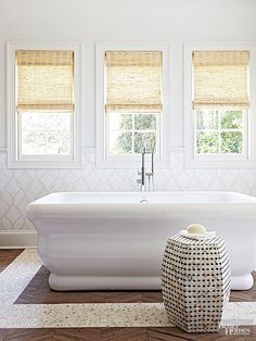Improve your home and add unique style to any space with these fun tile ideas. Get inspired and add color and pattern to any space in your home with these fun tile creations.