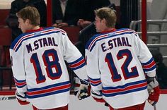 Staal brothers - New York Rangers