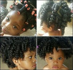 Perm Rods Also Work Great For Kids IG:@mrspeace91 #naturalhairmag