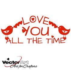 Valentine svg, Heart svg, Love, Wedding, Greeting card svg, Bird svg, Fairy svg, SVG Cutting file, Cricut, Silhouette, Craft, Paper craft, Glass block design, Valentine, .eps file, .ai file, svg cutting file, svg cutting files, decals, vinyl cutting, applique, iron on, transfer
