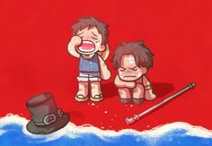 One Piece, ASL, Ace, Luffy