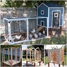 Chicken Coop - DIY Chicken Coops Plans That Are Easy To Build Building a chicken coop does not have to be tricky nor does it have to set you back a ton of scratch.